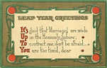 LEAP YEAR GREETINGS It's Up To You