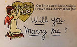 1908 Will you marry me?