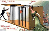 LEAP YEAR 1908. ALL MEN BEWARE!