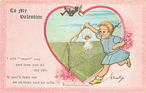 TO MY VALENTINE LEAP YEAR 1908