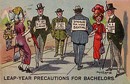 LEAP-YEAR PRECAUTIONS FOR BACHELORS