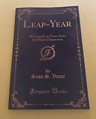 LEAP-YEAR A Comedy In Four Acts, For Nine Characters by Susa S. Vance