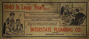1940 Interstate Plumbing Co.
