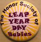 HONOR SOCIETY OF LEAP YEAR DAY BABIES