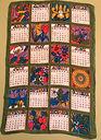 1972 Linen Leap Year Calendar
