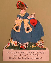 Valentine Key To My Heart from the MARSHA HOADLAND LEAP YEAR COLLECTION