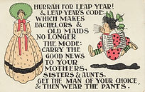 Hurrah For Leap Year! LEAP YEAR 1908