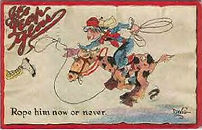 DWIG 1912 IT'S LEAP YEAR   Rope Him In
