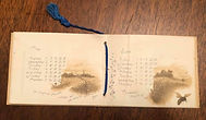 Ye Little Calendar for 1888 Leap Year FA Ferris Co.