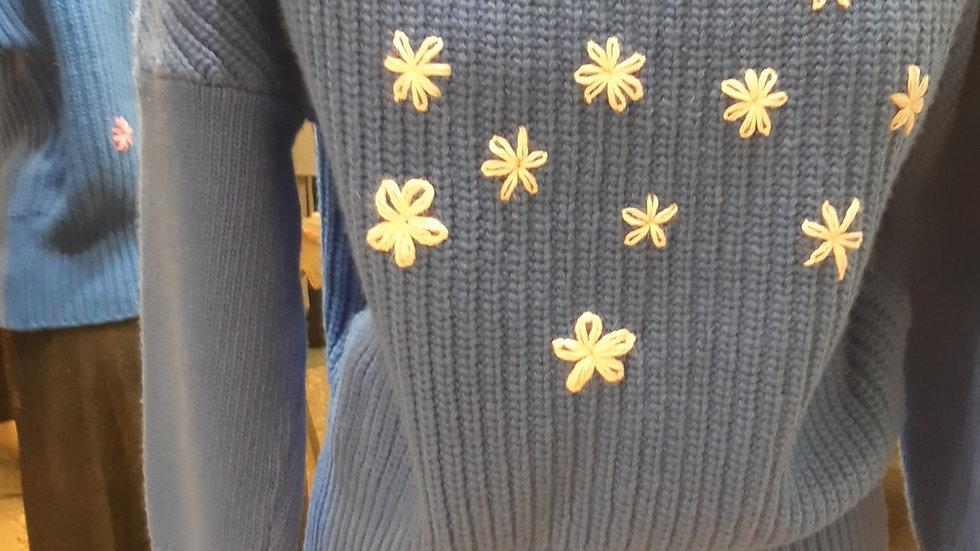 maglia fiori