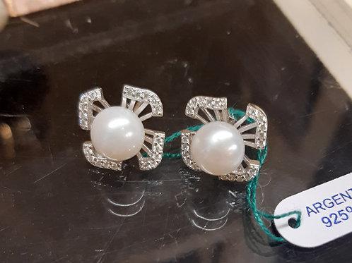 orecchino argento