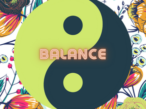 Balance is a myth
