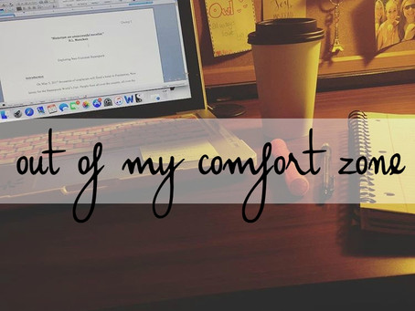 3 | writing out of my comfort zone