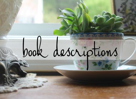7 | book descriptions