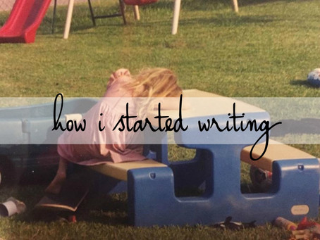 1 | how i started writing