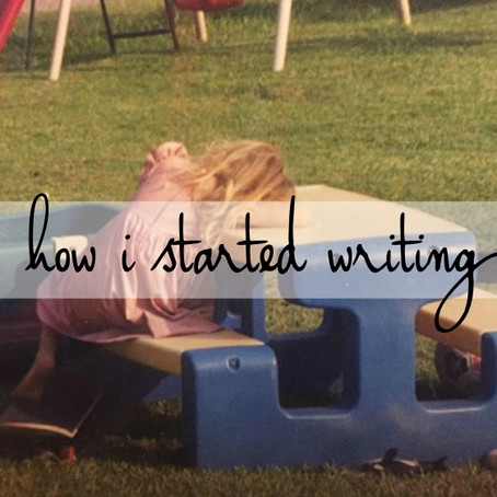 1 | how i started​ writing