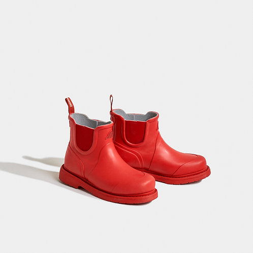 Vinga Rubber Boots Chilli Red by Dirdriksons
