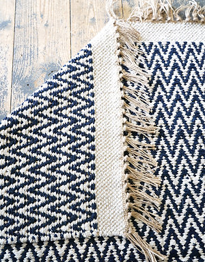 The Ultimate Cotton Rug Navy