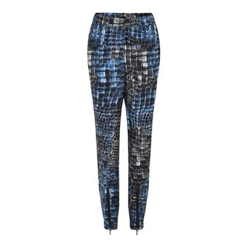 Civ Pants Blue Print by Gustav