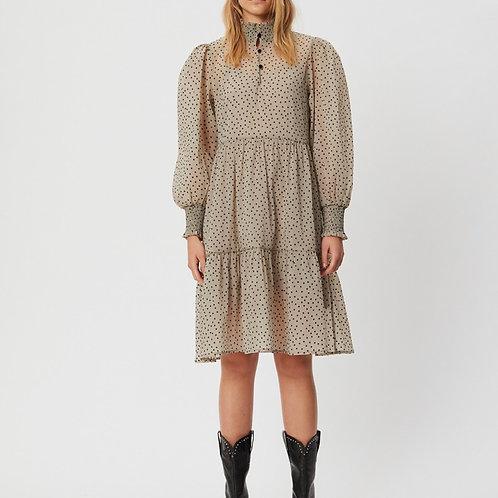 Elle Dot Dress Sand by Sofie Schnoor