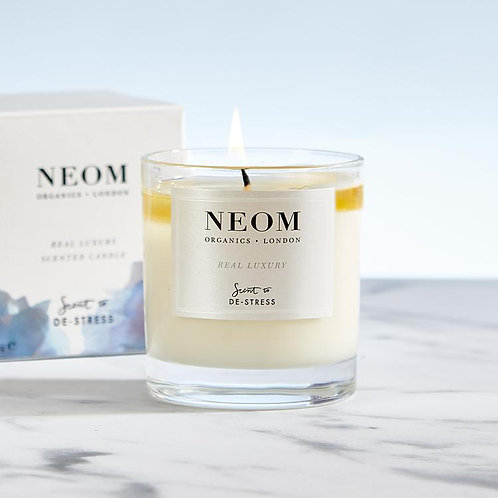 Neom Real Luxury Scented Candle (1 Wick) DE-STRESS