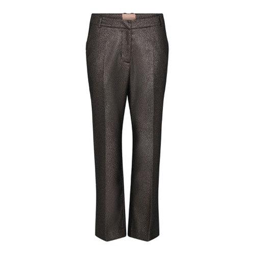 Avo 7/8 Flair Leg Trouser Sparkle Brown by Gustav