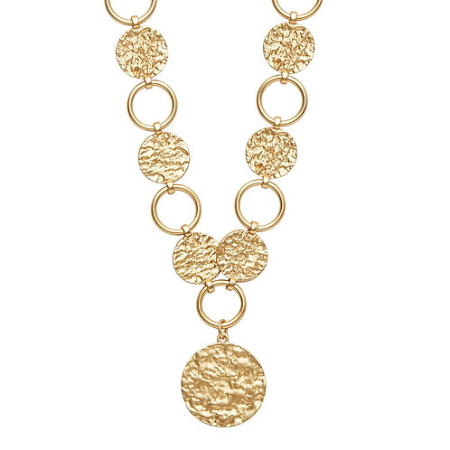 Amber Statement necklace - by Dansk