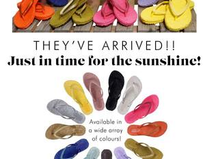 Ilse Jacobsen Flip Flops have arrived!
