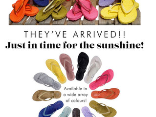Ilse Jacobsen Flip Flops have arrived!