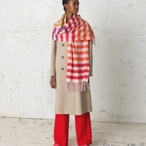 Karla Multi Coloured Scarf by Becksondergaard