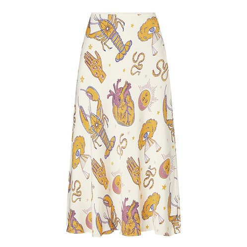 Alsop Tarot Midi Skirt by Samsoe Samsoe