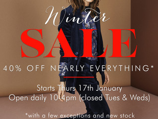 Don't miss our Winter Sale!
