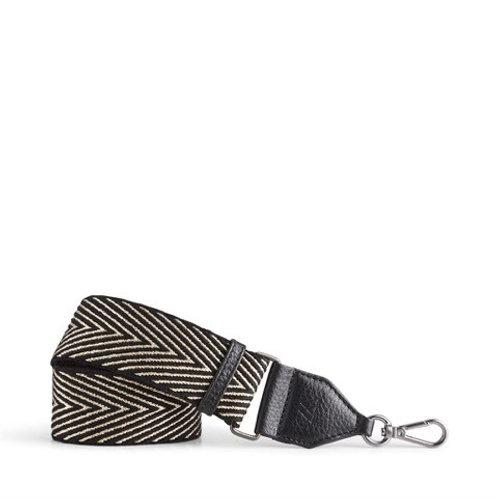 Maisey Guitar Bag Strap Black/Gold by Markberg
