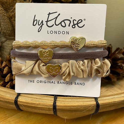 Charm Hair Bands Gold Mix by Eloise