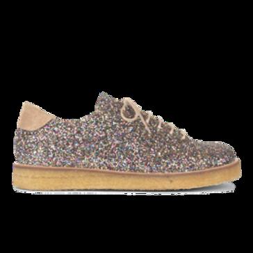 Multi Glitter Sneaker by Angulus
