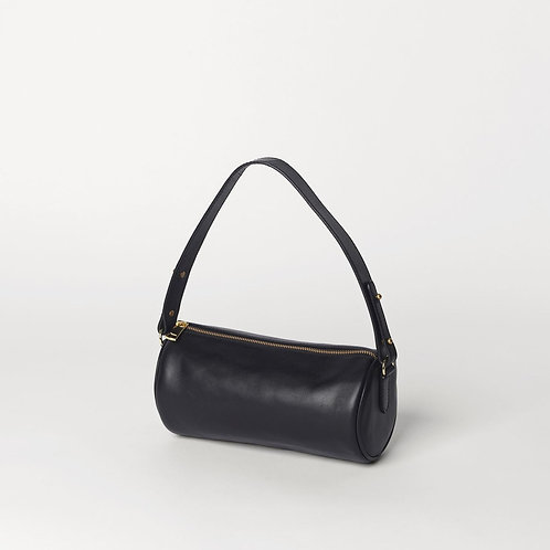 Waxy Barrol Leather Bag Black - by Becksondergaard