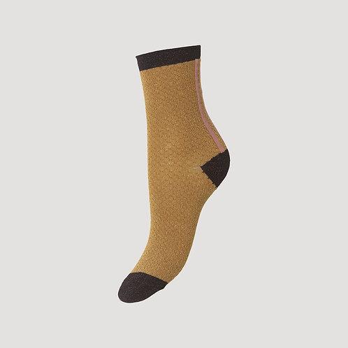 Shimmer Pasha Sock Tapenade by Becksondergaard