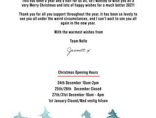 Merry Christmas from Jeanett at Nelle DK