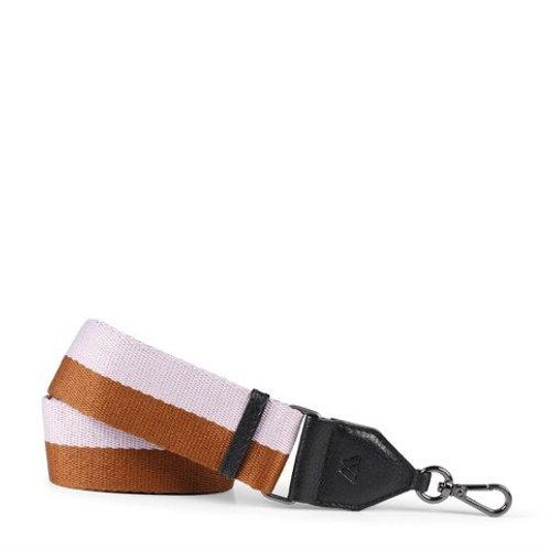 Finley Guitar Bag Strap Brown/Lilac by Markberg