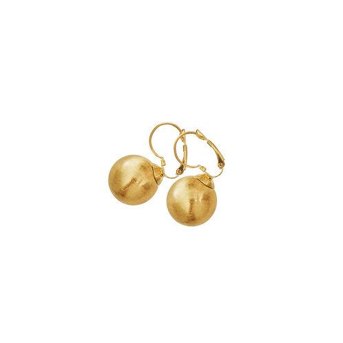 Tabitha French Clip Earrings Gold - by Dansk