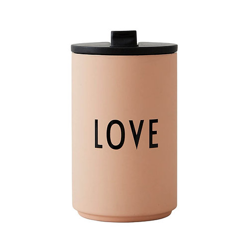 Thermo/Insulated Cup LOVE by Design Letters