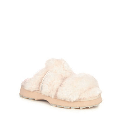 Wobbegong Sheepskin Slippers Natural - by Emu