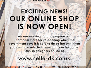 Nelle DK online shop is now open!