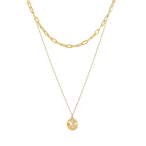 Alma Chain Necklace Gold - by Dansk