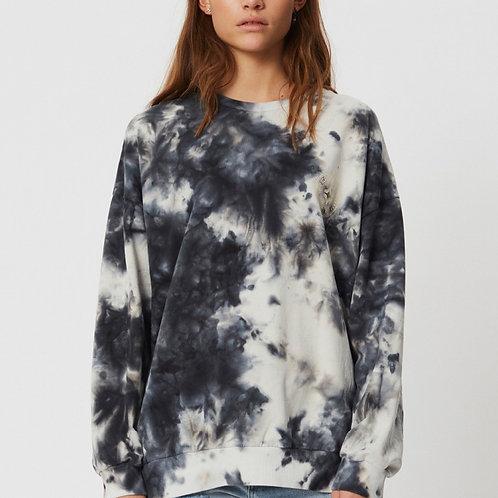 Zea Tie Dye Sweatshirt Grey by Sofie Schnoor