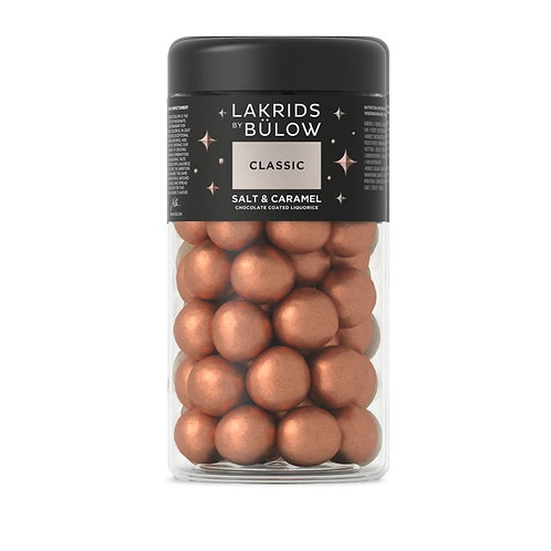 Classic Salt and Caramel Coated Licorice Regular by Lakrids