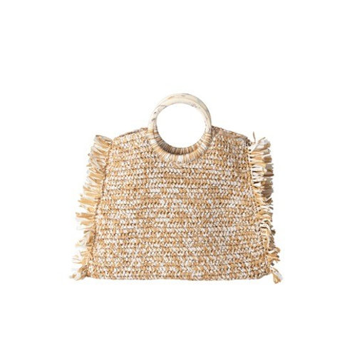 Falke Straw Bag by Becksondergaard