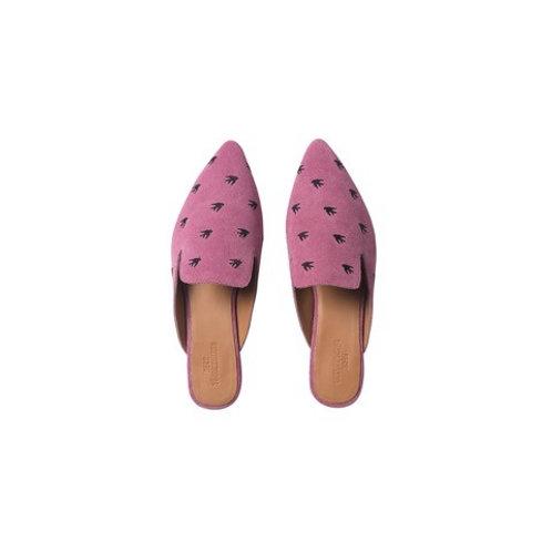 Sunbird Mule Slippers Pink by Becksondergaard