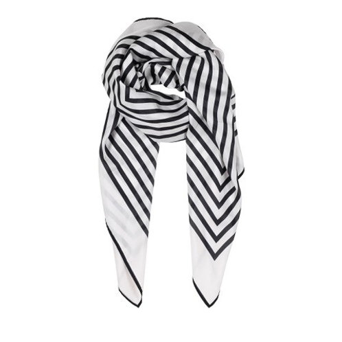 Allis Printed Silk Scarf by Gustav