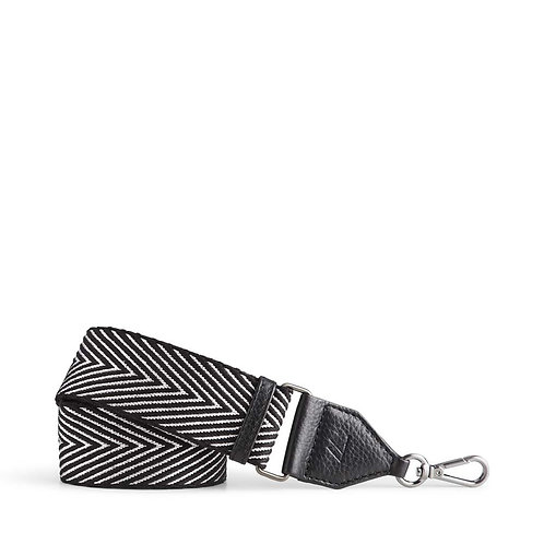 Maisey Guitar Bag Strap Black/Silver by Markberg